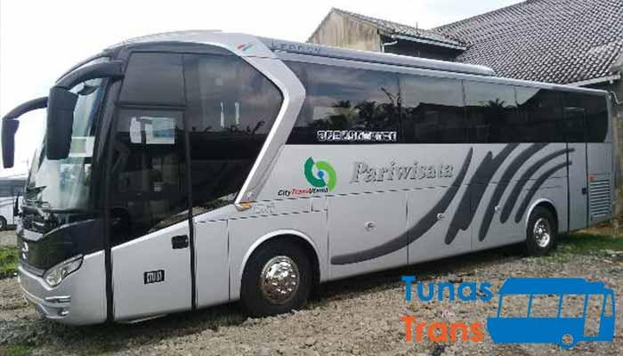 sewa bus pariwisata di Bogor terbaik murah