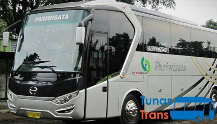 sewa bus pariwisata di Purwakarta terbaik harga murah
