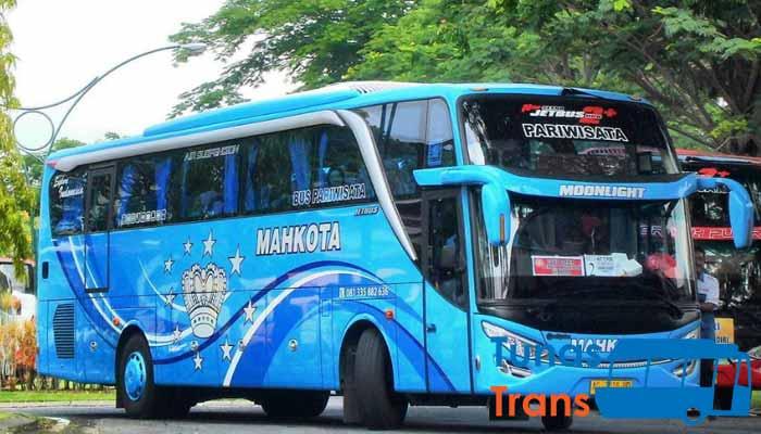 Daftar Harga Sewa Bus Pariwisata PO Mahkota Kediri Murah Terbaru