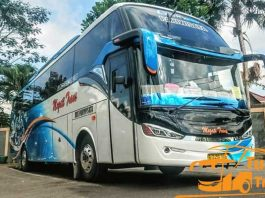 Daftar Harga Sewa Bus Pariwisata di Cikarang Murah Terbaik Terbaru Exterior