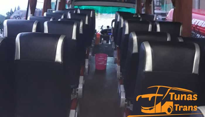 Daftar Harga Sewa Bus Pariwisata di Dieng Wonosobo Interior Terbaru Murah